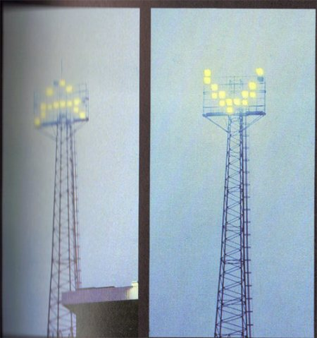 Floodlights Aston Villa