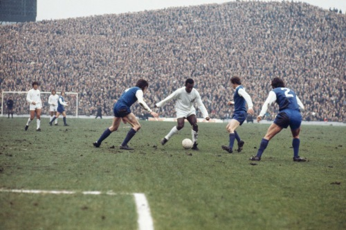 Pele at Hillsborough 1972